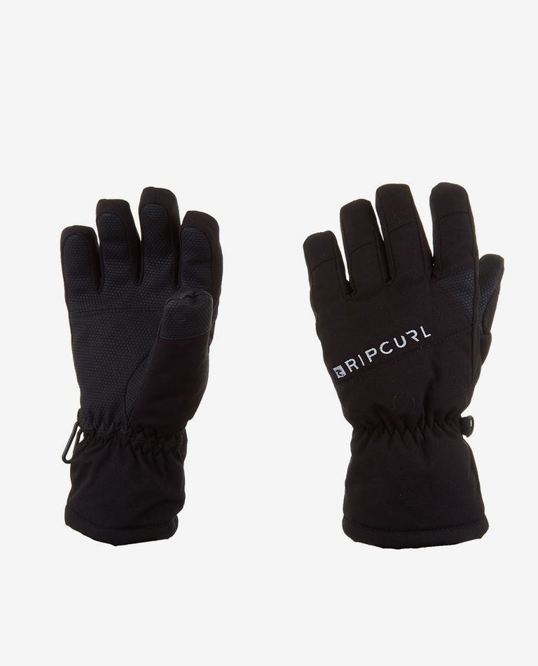 Rider Junior Mountainwear Snow Gloves in Jet Black