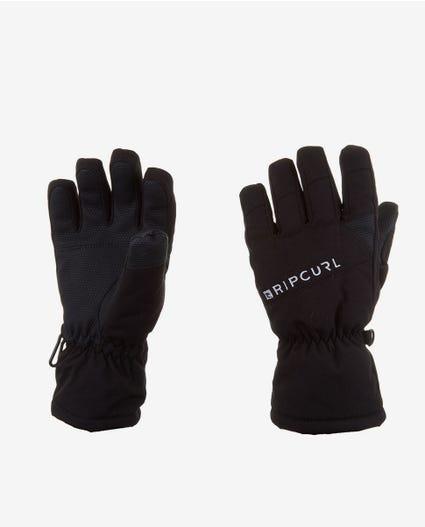 Rider Junior Mountainwear Snow Gloves in Jet Black