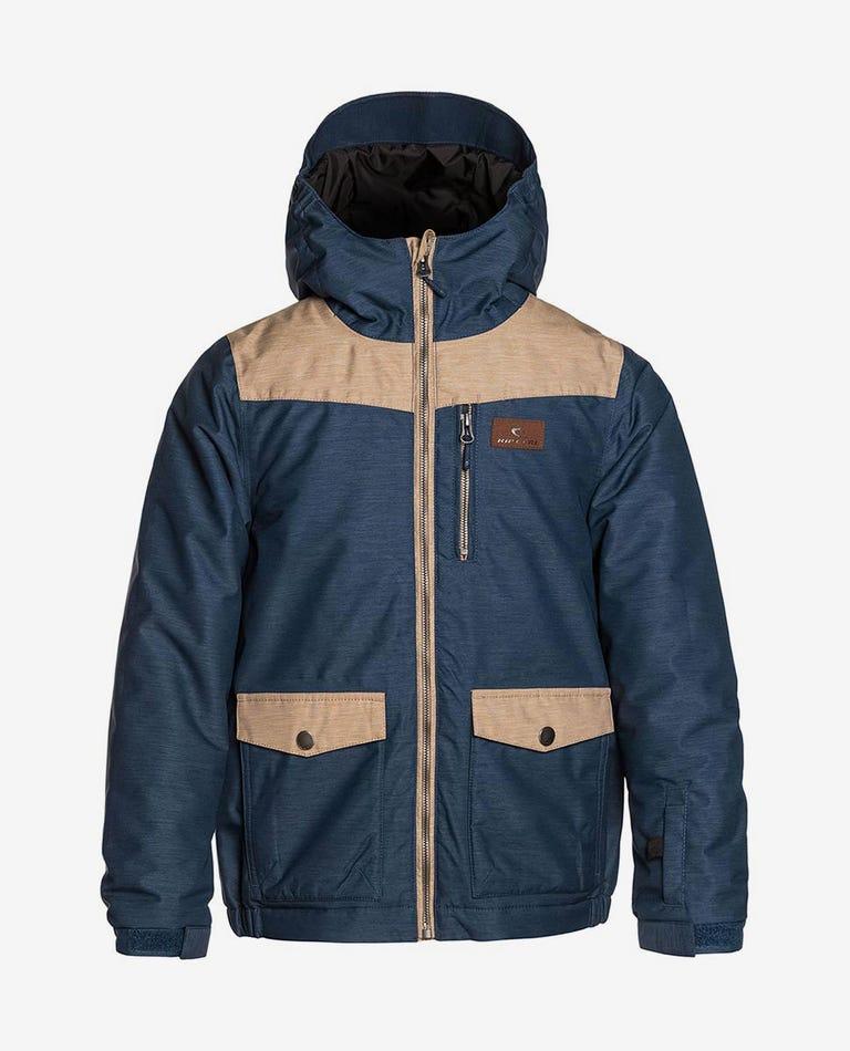 Snake Mountainwear Snow Jacket in Dress Blue