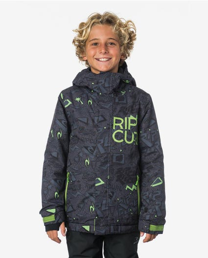 Olly Snow PTD Mountainwear Snow Jacket in Forest Green