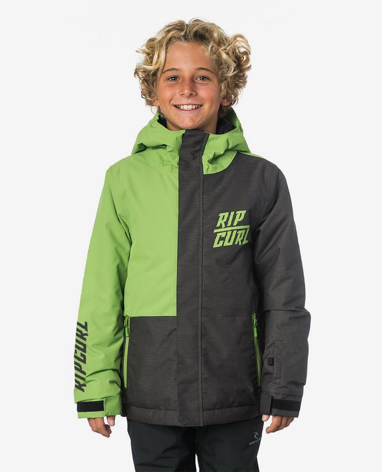 Olly Plain Mountainwear Snow Jacket in Forest Green