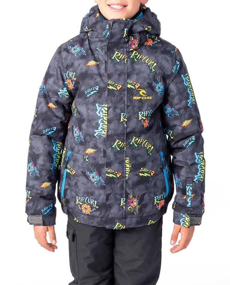 Kid's Olly Snow Jacket in Steel Grey
