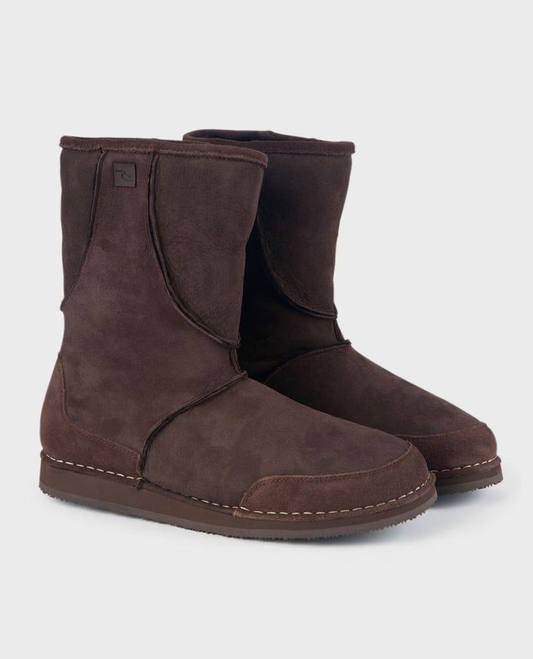 Bird Rock Boot in Dark Brown
