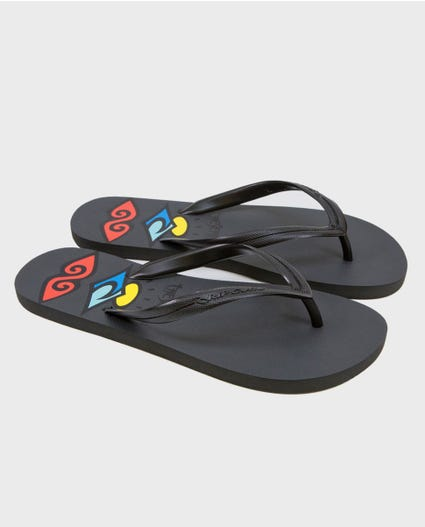 Retro Sandals in Charcoal