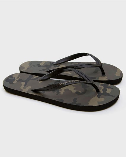 Trad Camo Sandals in Army