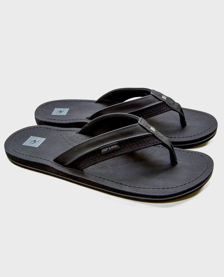 Ox Sandals in Black/Black