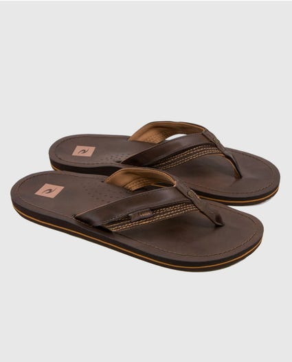 Ox Sandals in Black/Black