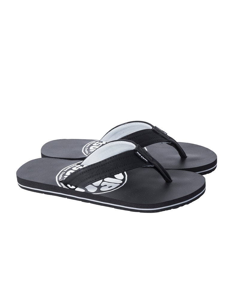 Ripper Madsteez Sandals in White/Black