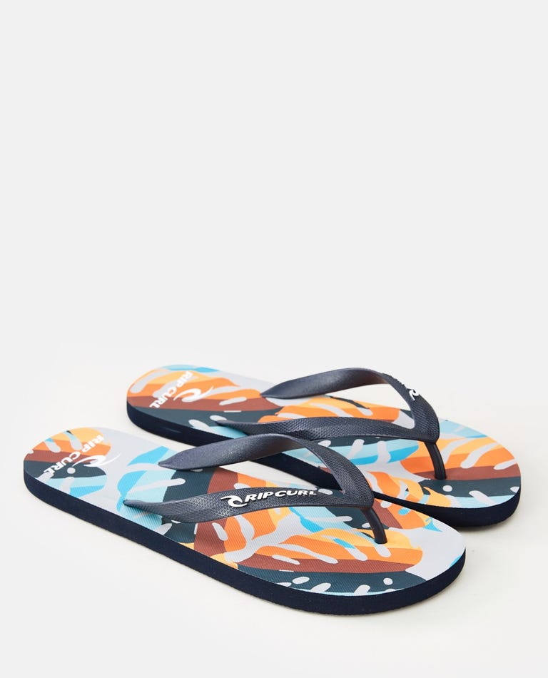 Hawaii Floral Sandal in Multico