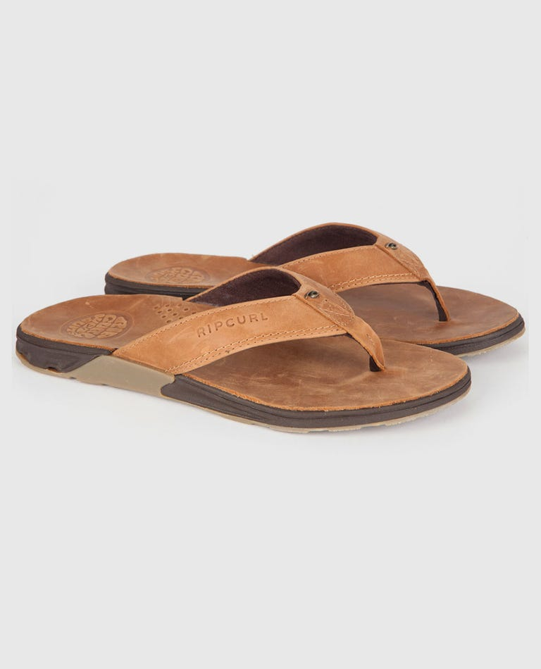 Ultimate Leather Sandals in Tan