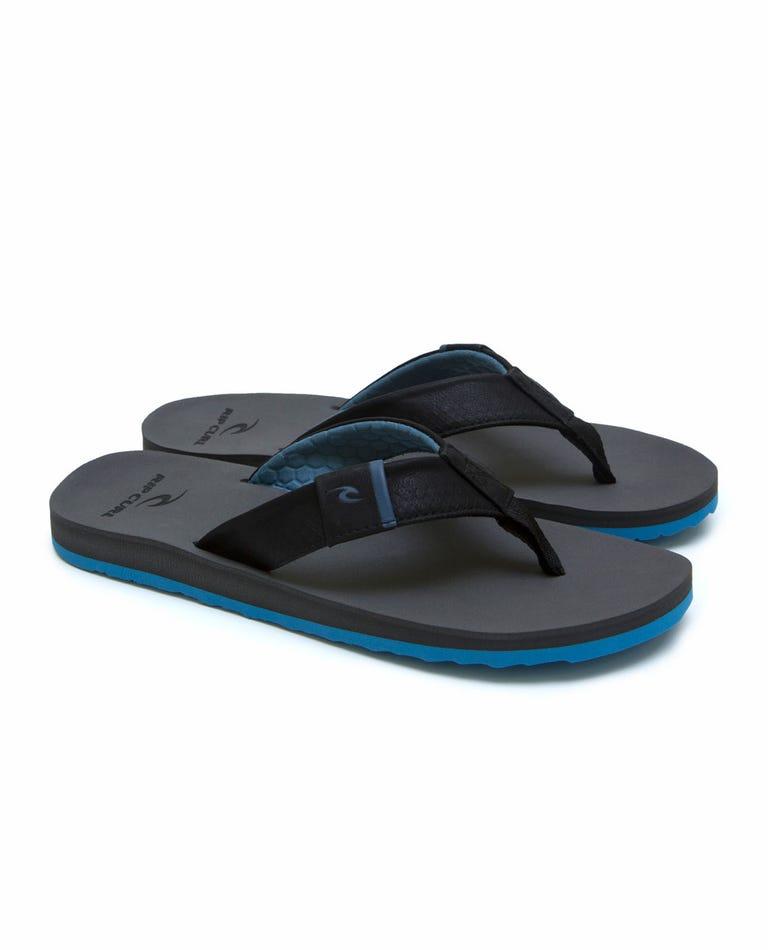 P-Low 2 Thongs in Black/Grey/Blue