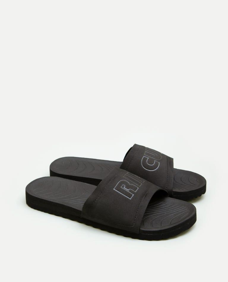 D-Bah Slide Sandals in Black