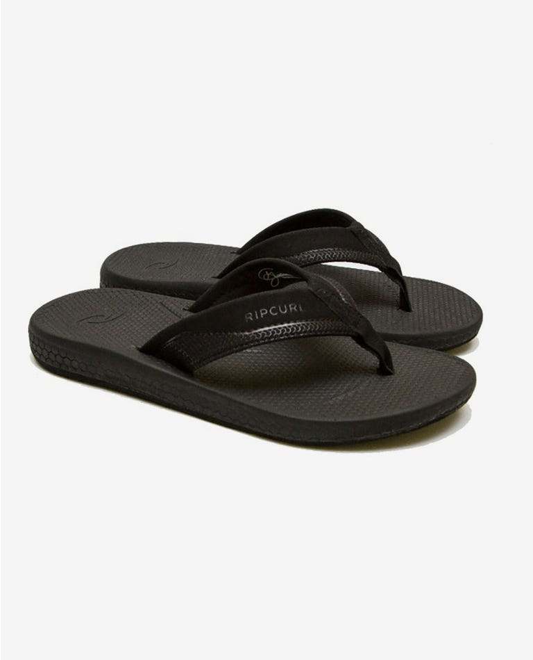 Sonar Sandals in Black/Grey