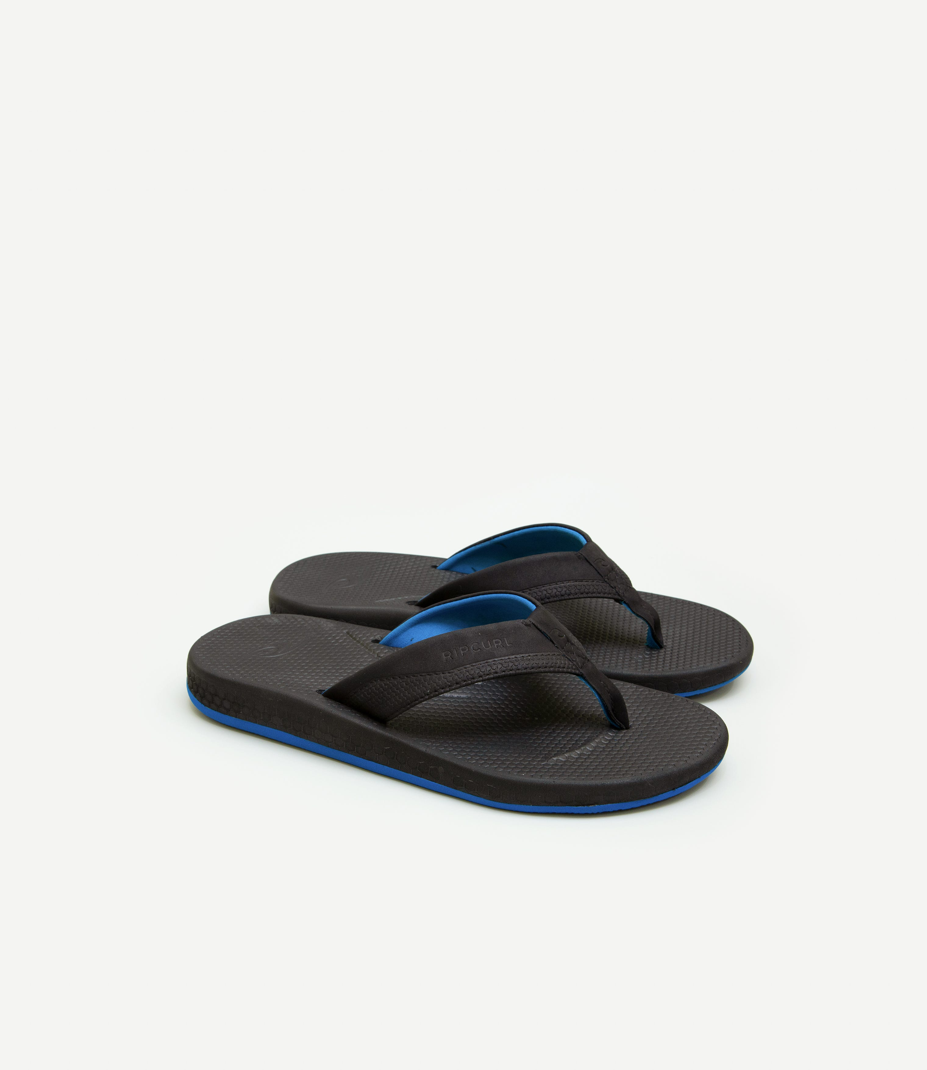 Mens Rip Curl Sonar Slide Black Sandal Flip Flop