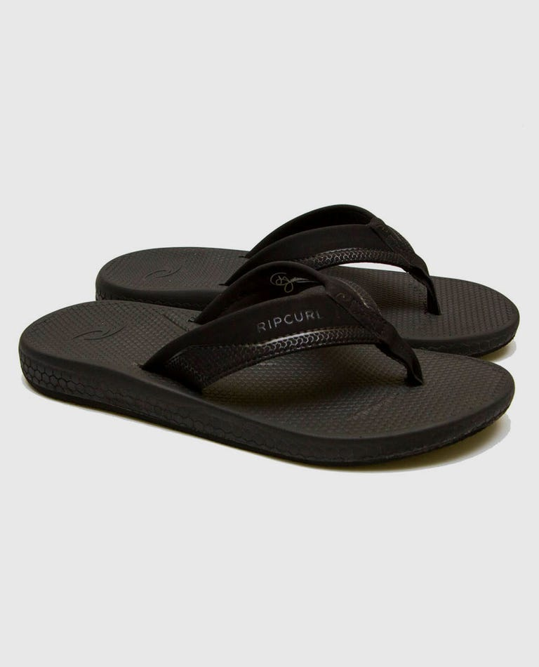 Sonar Sandals in Black/Grey