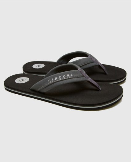 Mavs Sandals in Black/Grey