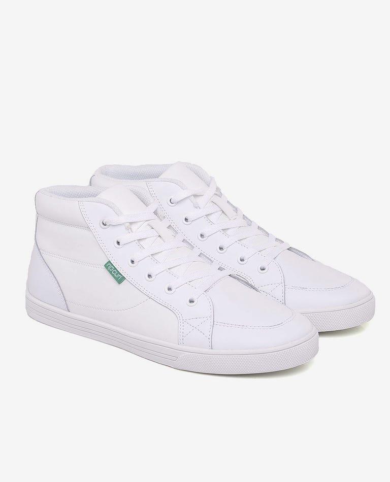 La Jolla Shoe in White