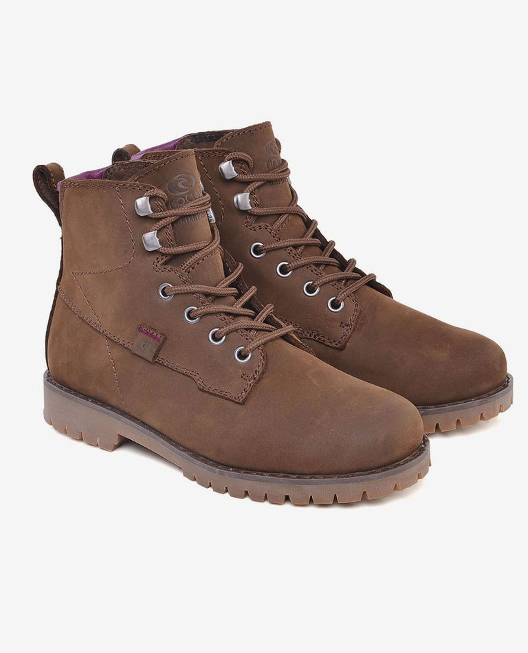 003 Womens Boot in Brown