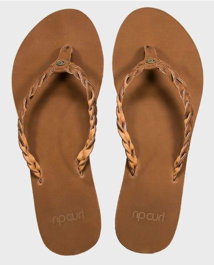 Riviera Maya Sandals in Chestnut