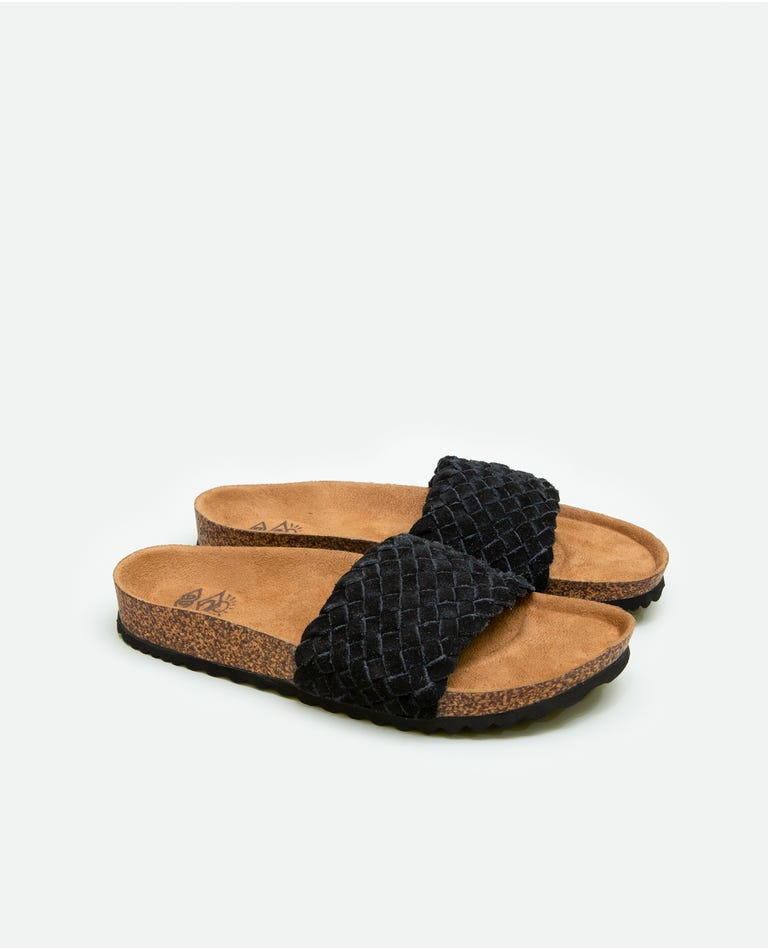 Marbella Sandals in Black