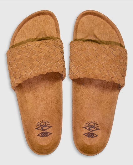 Marbella Sandals in Chestnut