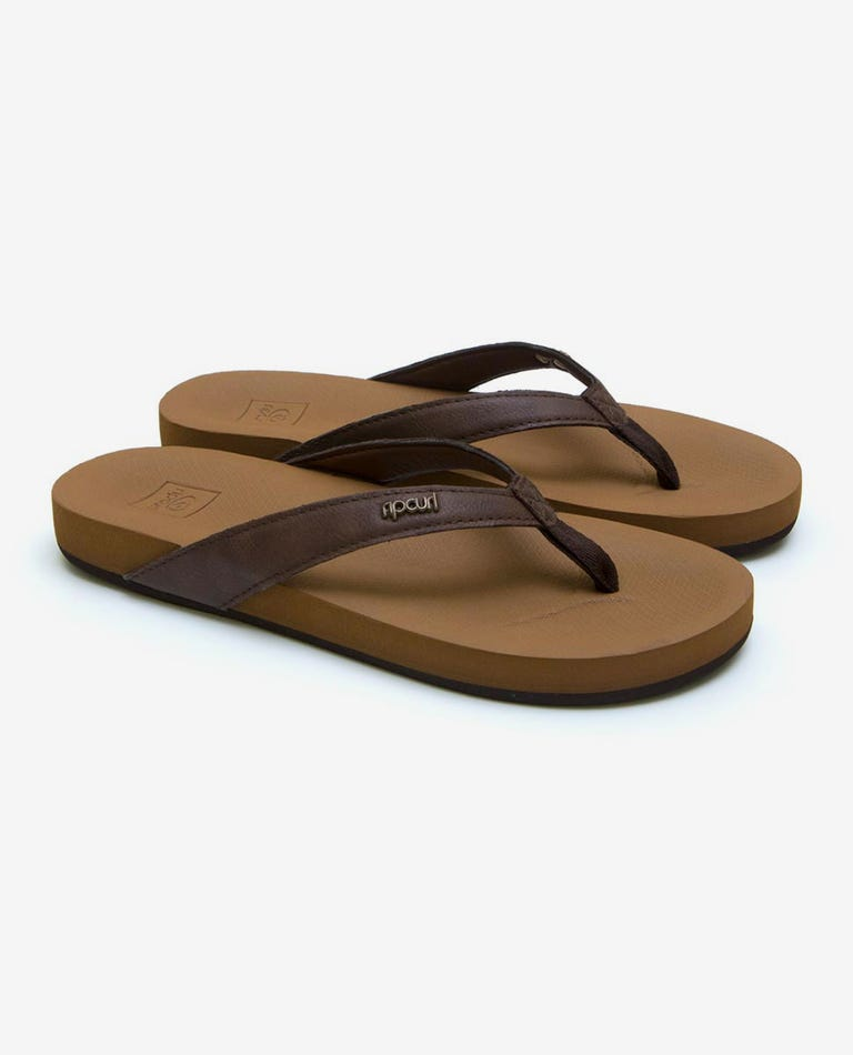 Seaside Thongs in Brown