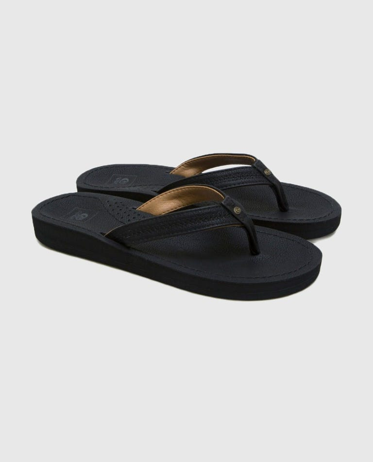 Cardiff Sandles in Black