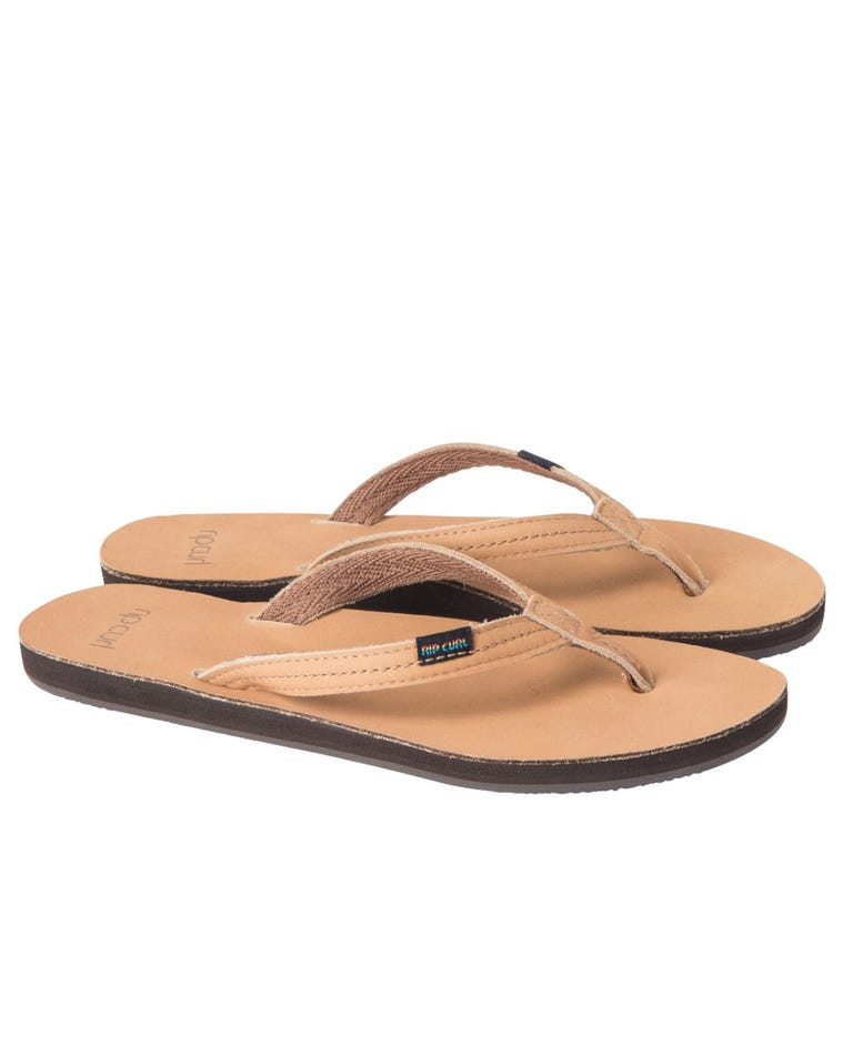 Riviera Sandals in Tan