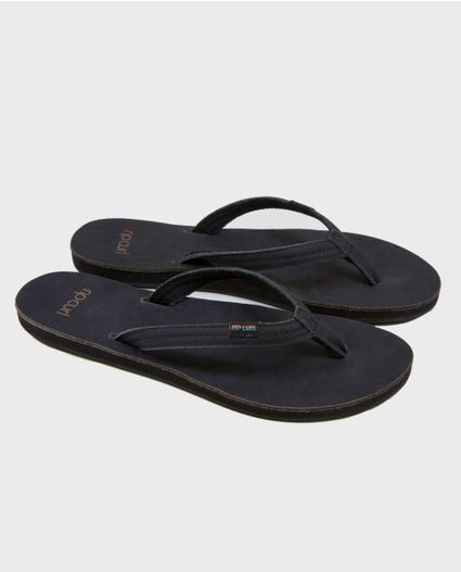 Riviera Sandals in Black