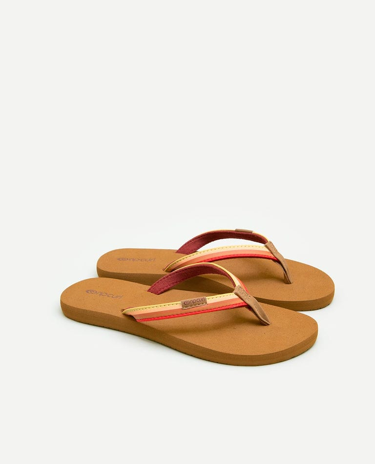 Freedom Sandals in Burgundy