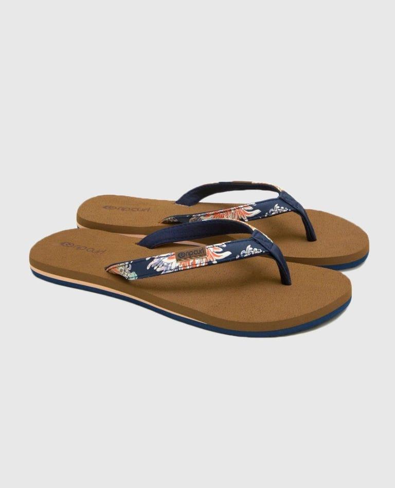 Freedom Sandals in Dark Blue