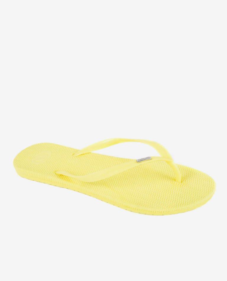 Fiesta Thongs in Yellow