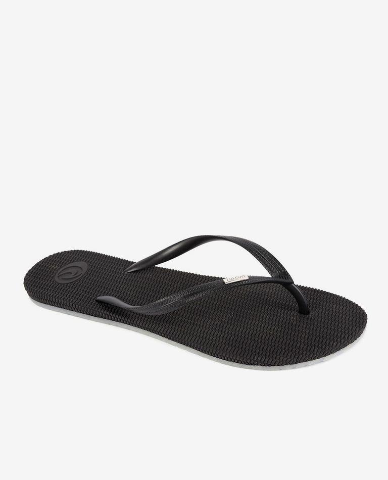 Fiesta Thongs in Black