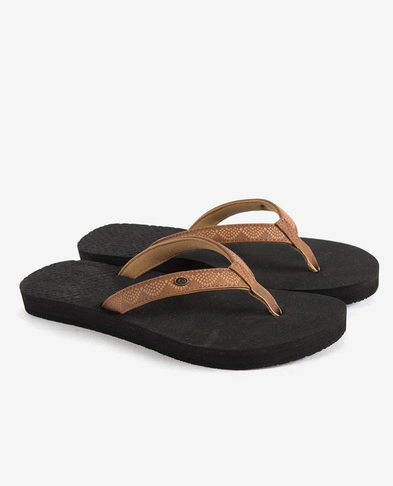 P-Low Girls Sandals in Tan