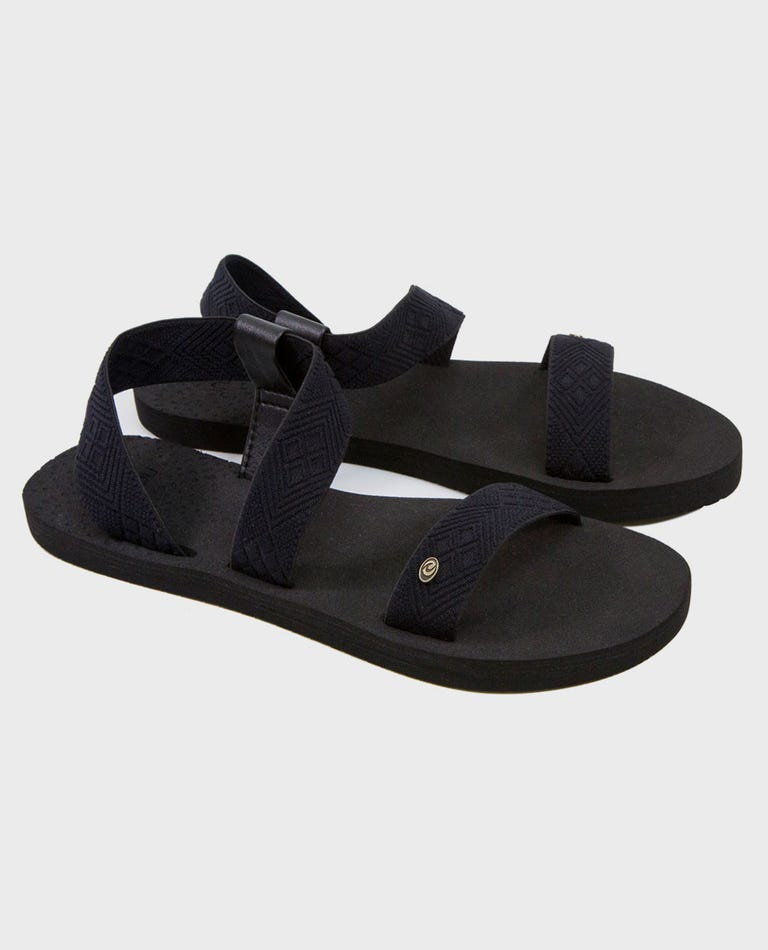 P-Low Paradise Sandals in Black