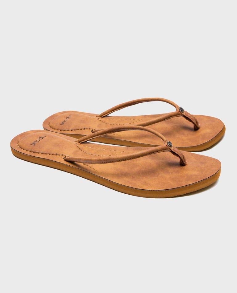 Luna Sandals in Tan