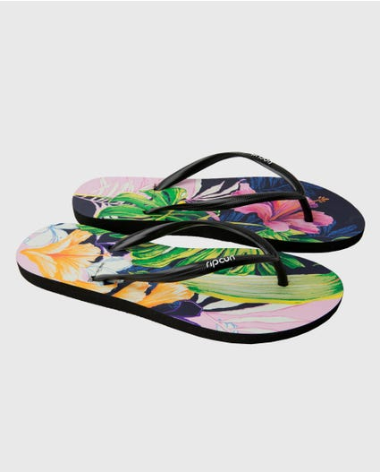 Garden Party Sandals in Multi Color