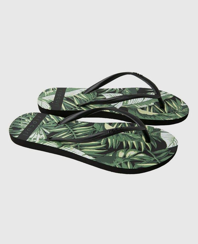Palm Reader Sandals in Black