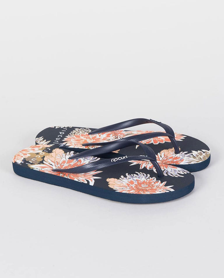 Sunsetters Thongs in Navy
