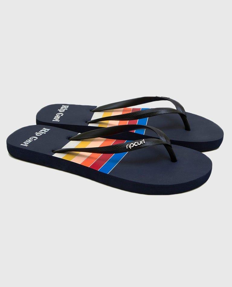 Surf Revival Sandals in Navy