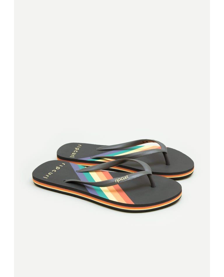 Bells Stripe Sandal in Multico