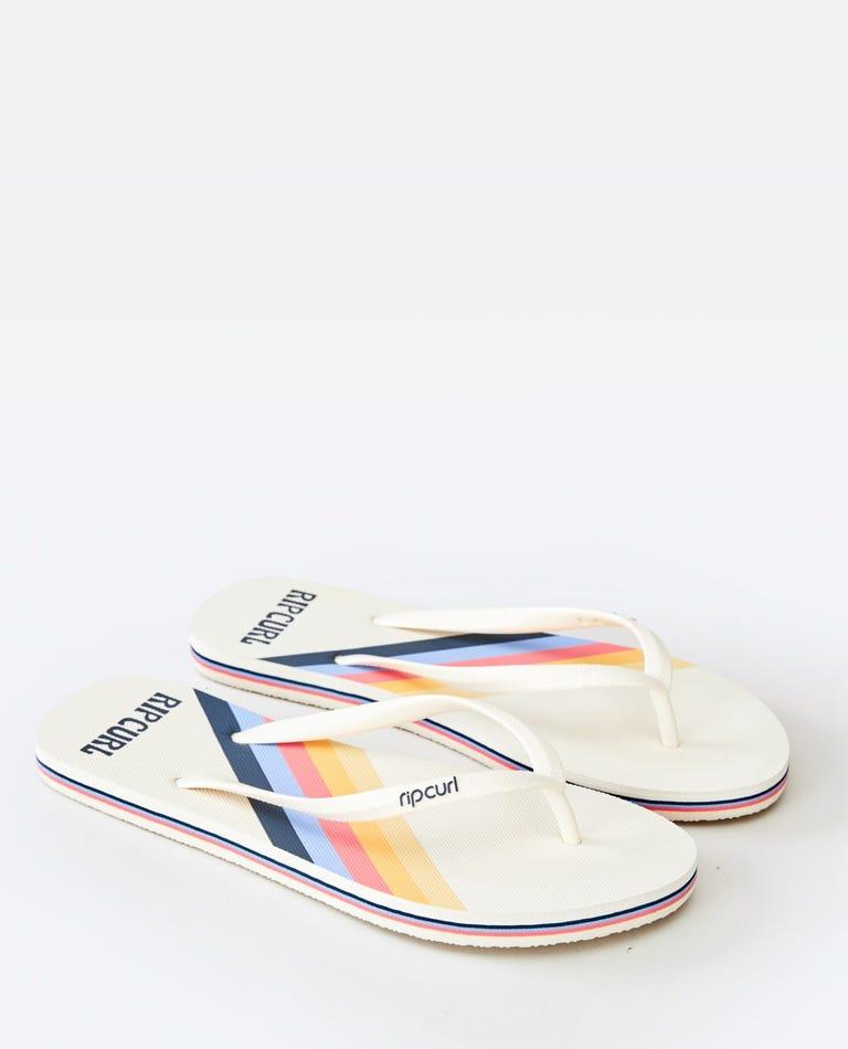 Golden State Sandal in White
