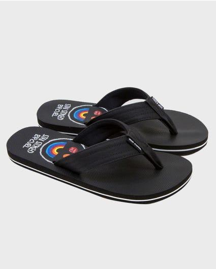 Ripper Kids Sandals in Black
