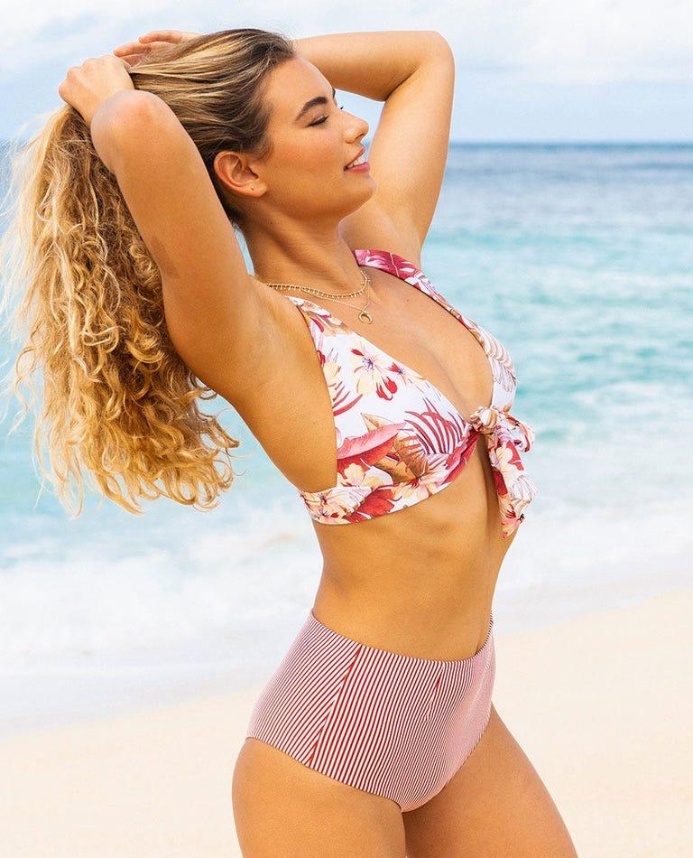 Leilani Deep V Bikini Top