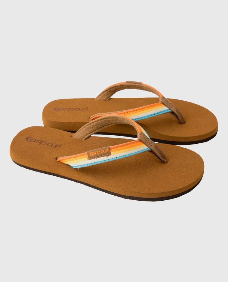 Freedom Mini Girls Sandals in Multi Color