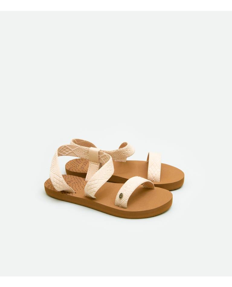 Girls P-Low Paradise Sandal in Natural