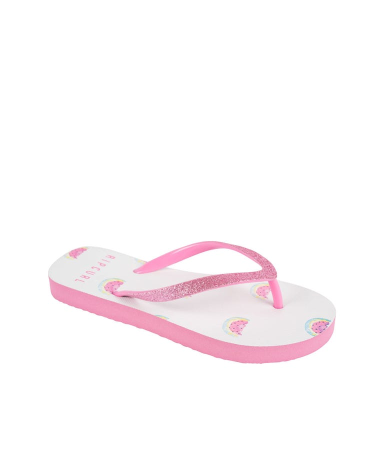 Gypsy Melon Kids Thongs in Pink