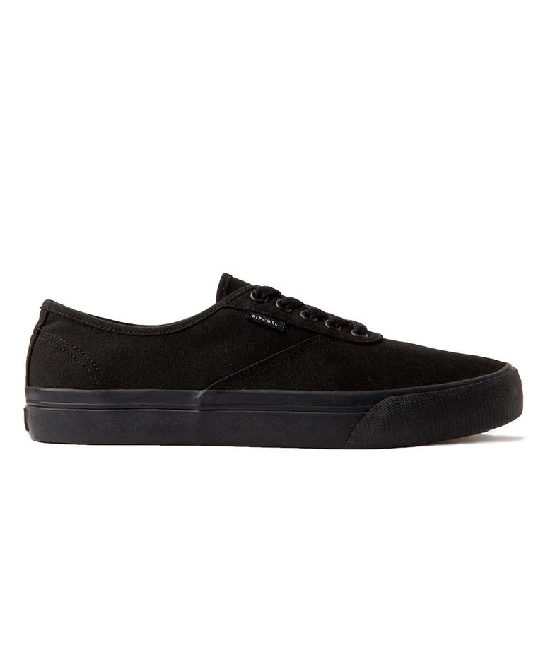 Tracks Sneaker in Black/Black