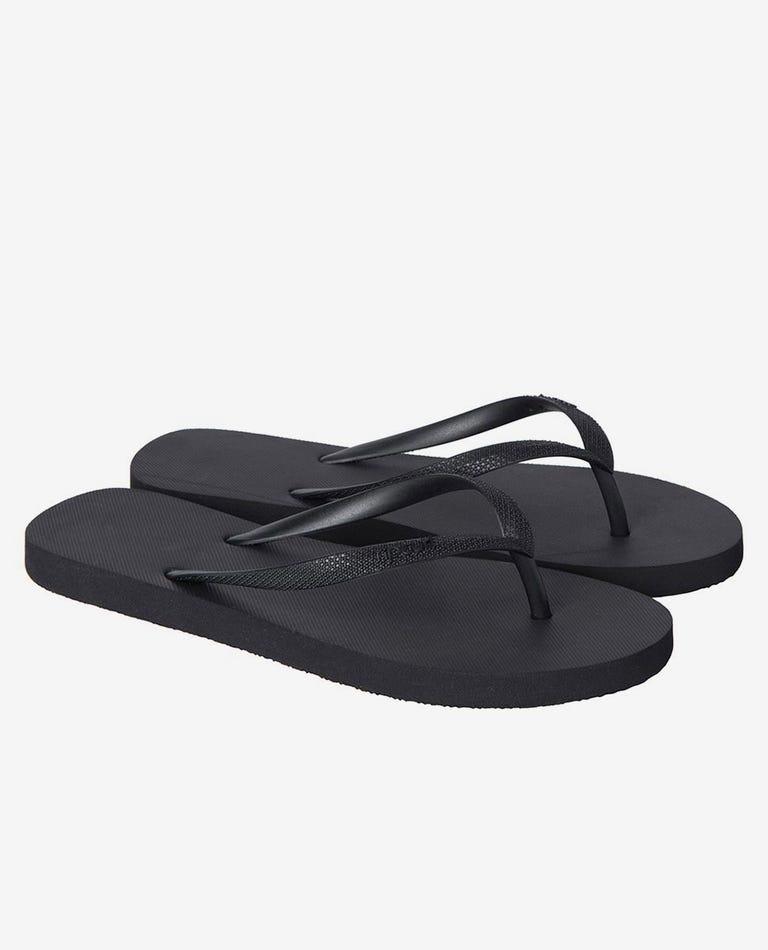 Bondi Thongs in Black