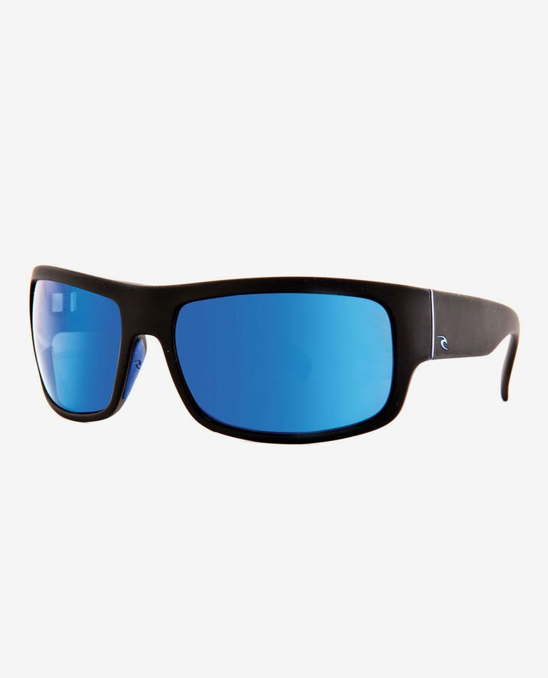 Raglan 8 Tri-Pel Polarized Sunglasses in Black/Gun